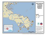 EPA Sediment Sampling Locations April 30 - May 3, 2010