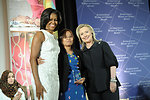 Secretary Clinton and First Lady Obama With 2012 IWOC Award Winner Zin Mar Aung of Burma