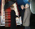 Secretary Clinton With Aleksey Sviridov and U.S. Ambassador John Beyrle