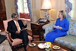Secretary Clinton Hosts Bilateral Meeting With Indian Minister of External Affairs S.M. Krishna
