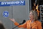 Secretary Clinton Delivers Remarks at the Symbion Power Plant