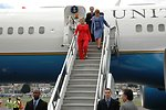 Secretary Clinton Arrives in Quito, Ecuador