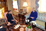 Secretary Clinton Meets With Supreme Court Justice Ginsburg