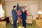 UNGA 2009: Secretary Clinton Meets With Georgian President