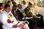 Audience Members Listen to Ambassador Butenis' Remarks