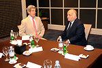 Secretary Kerry Meets With Jordanian Prince El Hassan Bin Talal