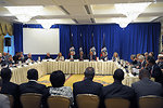 Secretary Clinton Delivers Remarks at the Haiti Key Players Ministerial Meeting