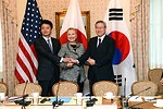 U.S., Japan, South Korea Trilateral Meeting During UN General Assembly
