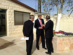 Secretary Kerry at the Al Bireh Youth Center in the West Bank