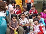 Andy Snow Engages Iraqi Children