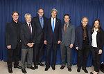 Secretary Kerry Meets With 'Camp David' Actors