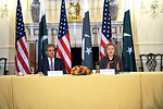 Secretary Clinton and Pakistani Foreign Minister Qureshi Open the U.S.-Pakistan Plenary Session
