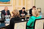 Secretary Clinton Meets With Uzbekistan's President Karimov