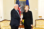 UNGA 2009: Secretary Clinton Meets With Panamanian President