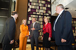 Ambassador Bleich, Secretary Clinton, Australian Opposition Leader Abbott, Australian Opposition Deputy Leader Bishop, and Australian Ambassador Beazley Meet