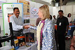 Secretary Clinton Tours an Exhibition of Clean Cookstoves