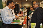 Visitors taking interest in the Medicinal and Aromatic Plants stall exhibuted by Entrepreneurs Project at the Expo