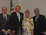Assistant Secretary Gottemoeller meets Representatives McGovern, Markey, and Kazakh Ambassador Idrissov