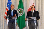 Secretary Kerry and Qatari Foreign Minister Al Attiyah Hold a Press Conference