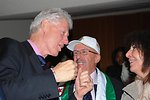 Former Pres. Clinton Speaks With Algerian Ambassador to South Africa Bencheikh