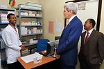 Secretary Kerry Visits PEPFAR-Supported HIV Clinic in Ethiopia