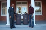 July, 2011 President of Voorhees College and EPA ecoAmbassador get Wastewise