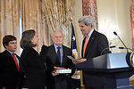 Secretary Kerry Hosts a Swearing-In Ceremony for Assistant Secretary Nuland