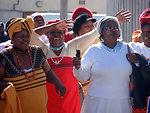 Behind the Scenes: Secretary Clinton Visits Victoria Mxenge Housing Development