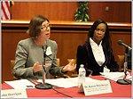 Dr. Karen Mossberger and Dr. Valerie  Wilson