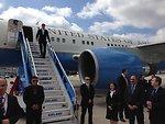 Secretary Kerry Arrives in Istanbul