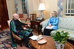 Secretary Clinton Meets With President Karzai