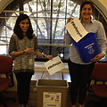 EPA Employees Harsharon and Yasmeen Recycle