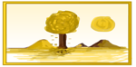 Illustration of an autumn landscape