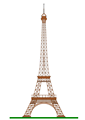 Illustration of the Eiffel Tower