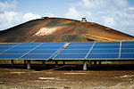 Remote base uses natural energy to power facilities