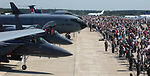U.S. aircraft, troops popular at Moscow air show