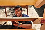 UVA Student Volunteer Dave Gupta Builds Bookcases