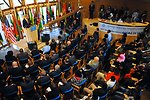 Audience Listens As Secretary Kerry Delivers Speech About Africa Policy in Ethiopia