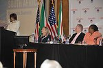 AmCham South Africa President Oosthuizen Introduces Secretary Clinton