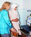 Ambassador Gfoeller Visits an American Pilot School