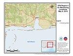 EPA Air Monitoring Locations May 6, 2010