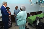 Secretary Kerry Gets Briefing at USAID-Funded Fistula Clinic in Kinshasa