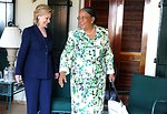 Secretary Clinton Meets With Haitian Presidential Candidate Manigat