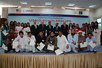 USAID awarded scholarships to 26 students of undergraduate degree programs in teacher education from the International Islamic University, Islamabad as part of the $165 million Pakistan Reading Project. 01