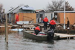 December 8, 2012 Small boat lands first, begins the search along Whig Inlet