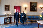 President Obama Welcomes Afghan President Karzai to the White House