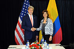 Secretary Kerry Meets With Colombian Foreign Minister Holguin