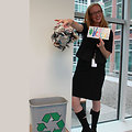 EPA Employee Ellie Recycles