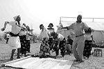 A U.S. Embassy Lusaka Staffer Dances