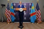 Secretary Kerry Holds News Conference After Meeting With President Kabila of Democratic Republic of Congo